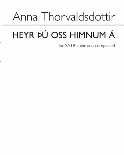 Heyr þú Oss Himnum á