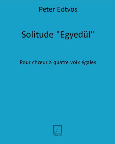 """Solitude """"Egyedül"""""""