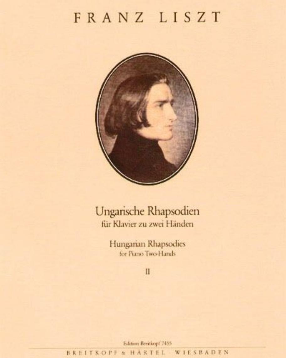Ungarische Rhapsodien - Bd. 2: Nr. 8 - 13