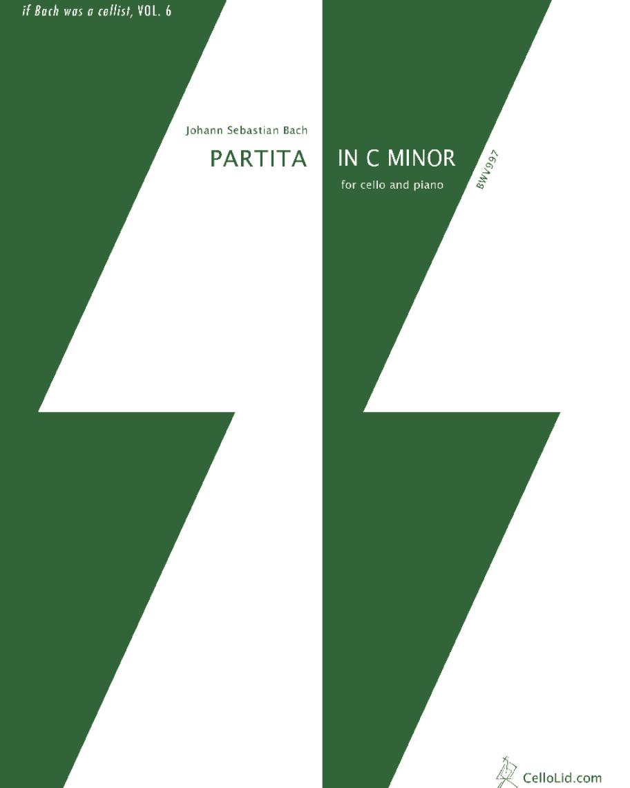 Partita in C minor for Cello and Piano, BWV 997