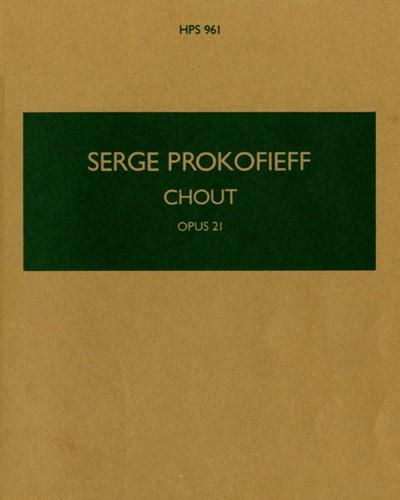 Chout, op. 21
