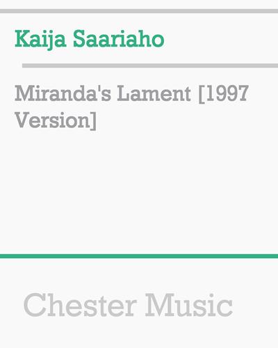 Miranda's Lament [1997 Version]