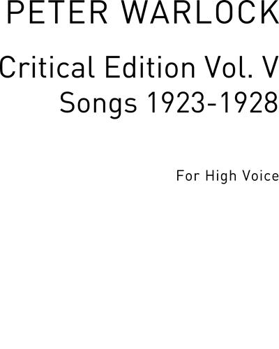 Songs 1923-1928 Vol. 5