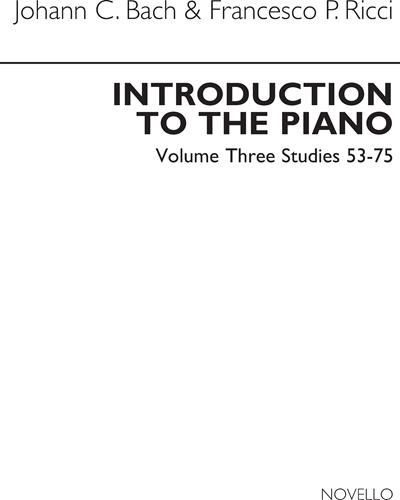 Introduction to the Piano Vol. 3