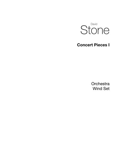 Concert Pieces, Vol. 1