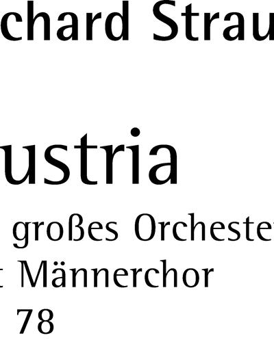 Austria op. 78