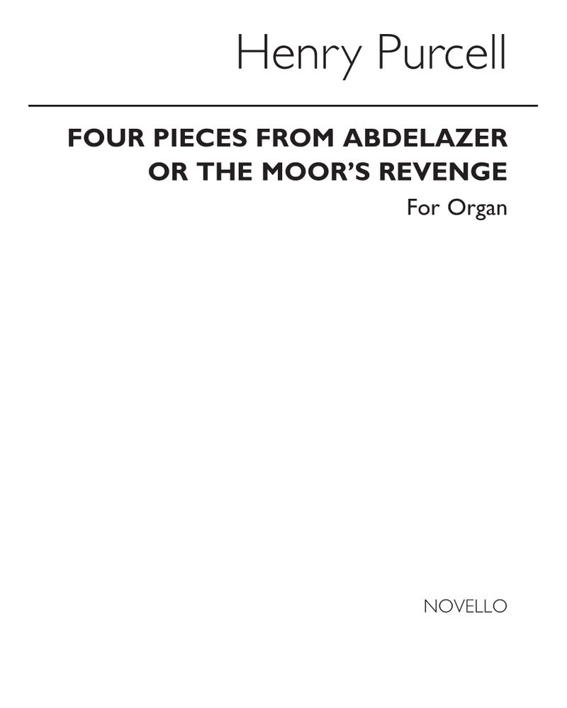 "Four Pieces (from ""Abdelazer"" or ""The Moor's Revenge"")"