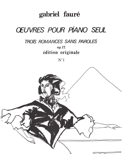 3 Romances sans paroles Op. 17 No. 1