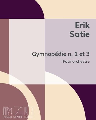 Gymnopédie n. 1 et 3