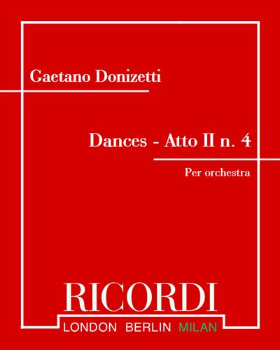 """Dances - Atto II n. 4 (estratto dall'opera """"Dom Sebastien"""")"""
