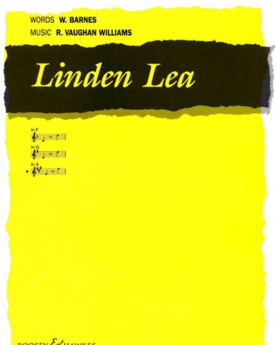 Linden Lea (in A major)