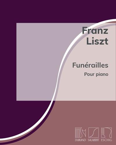 """Funérailles (n. 7 des """"Harmonies poétiques et religieuses"""")"""
