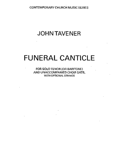 Funeral Canticle