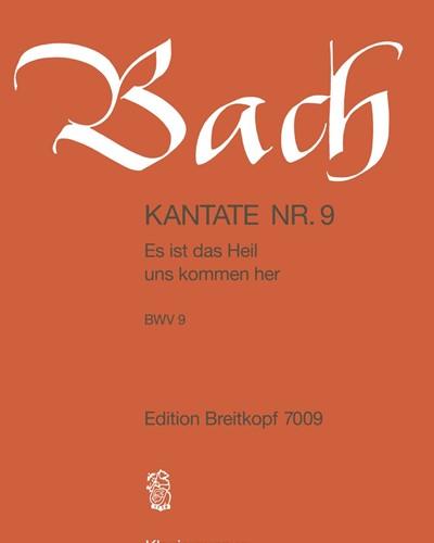 """Kantate BWV 9 """"Es ist das Heil uns kommen her"""""""