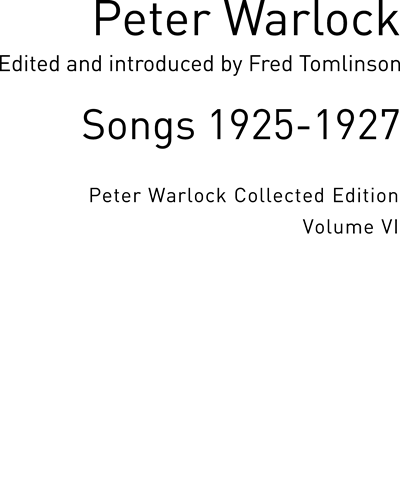 Songs 1925-1927 Vol. 6