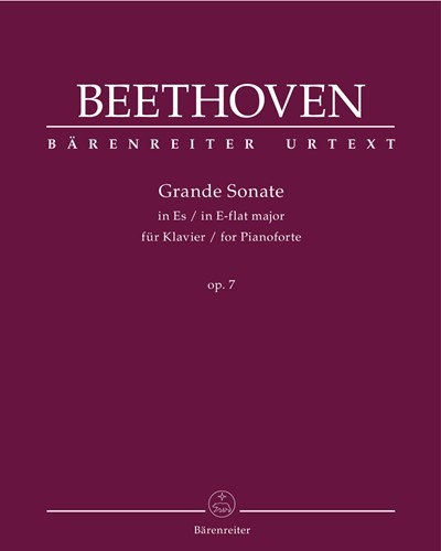 Grande Sonate for Pianoforte E-flat major op. 7