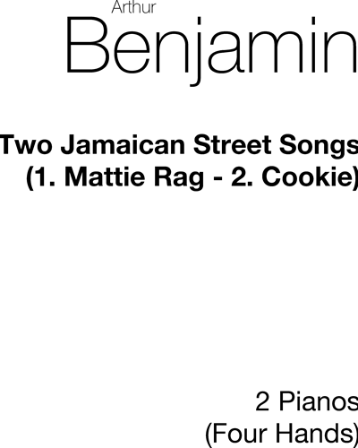 Two Jamaican Street Songs