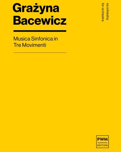 Musica sinfonica in tre movimenti