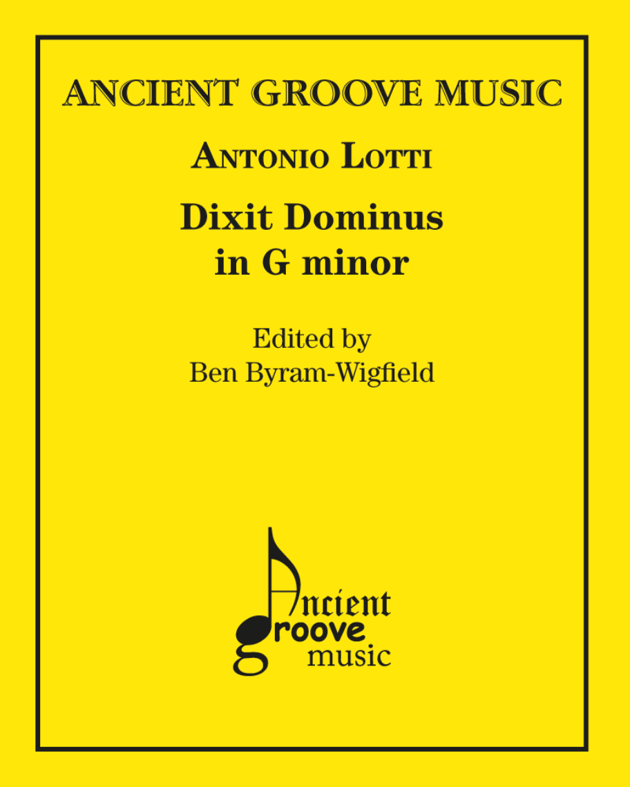 Dixit Dominus in G minor