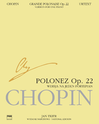 Polonaise in E flat, op. 22 (National Edition)