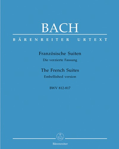 The Six French Suites BWV 812-817