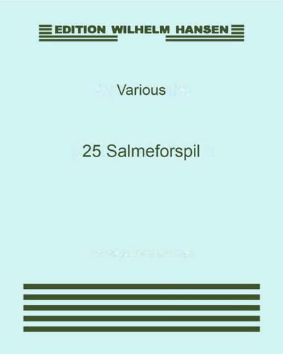 25 Salmeforspil