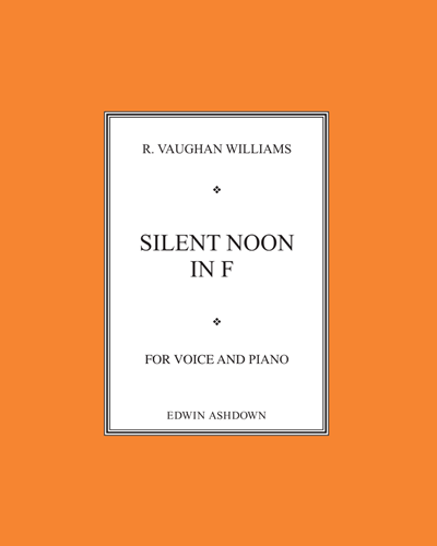 Silent Noon No. 3 in F