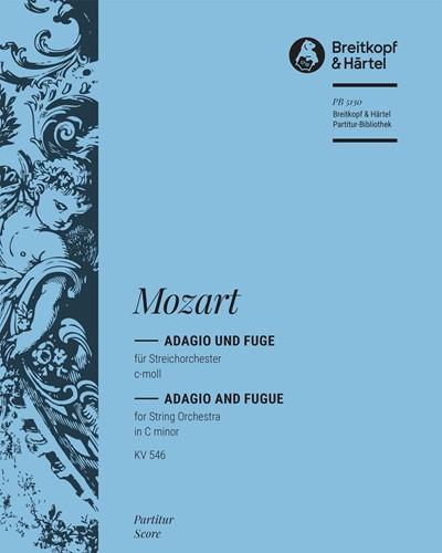 Adagio und Fuge c-moll KV 546