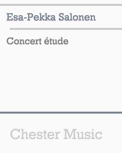 Concert étude