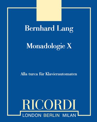 Monadologie X