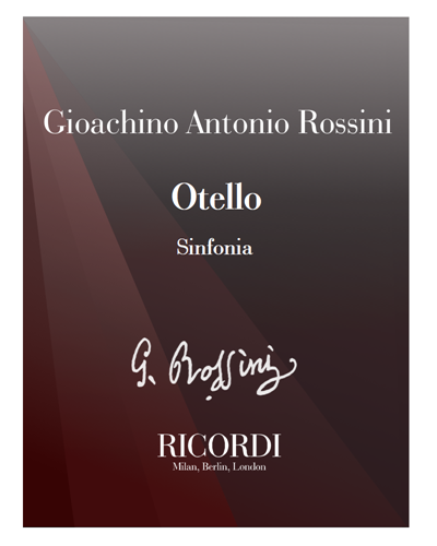 Otello [Critical Edition] - Sinfonia
