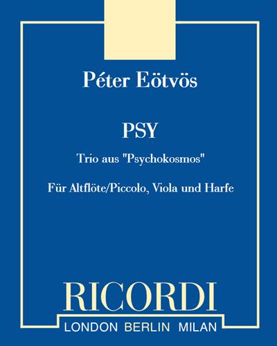 PSY - Für Altflöte/Piccolo, Viola und Harfe