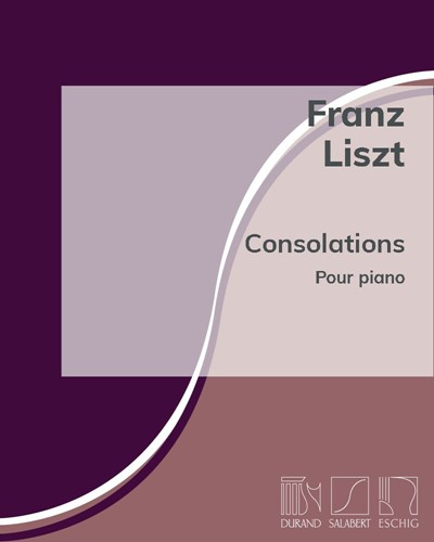 Consolations pour piano