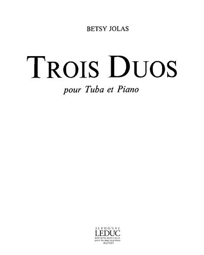 Trois Duos pour Tuba et Piano