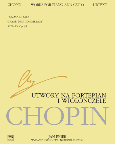 Works for Piano and Cello (National Edition)