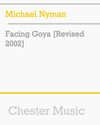 Facing Goya [Revised 2002]