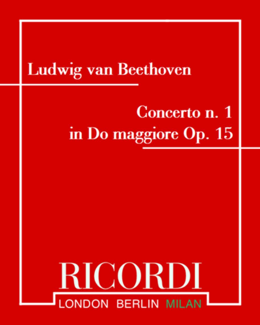 Concerto n. 1 in Do maggiore Op. 15