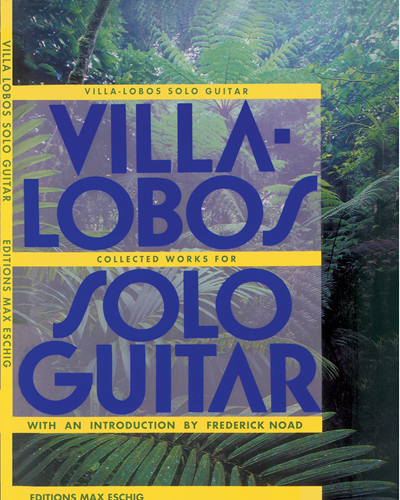 Collected works - For solo guitar