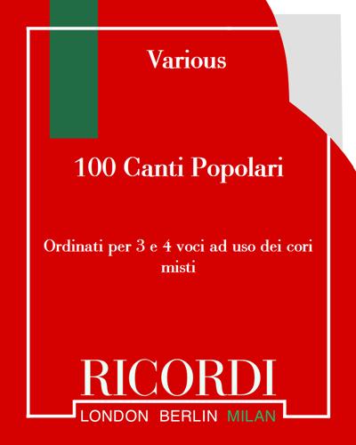 100 Canti Popolari