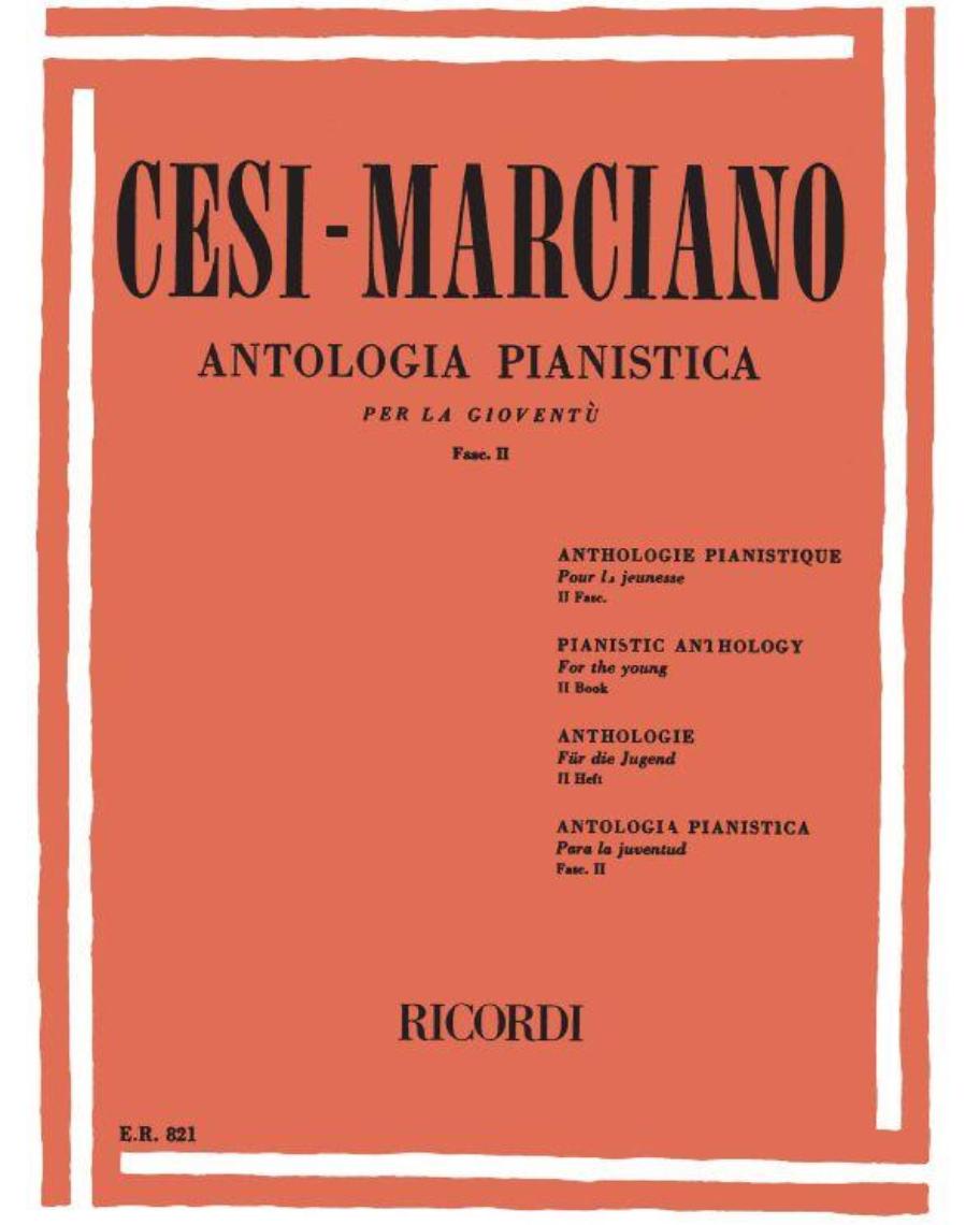 Antologia pianistica per la gioventù Fascicolo 2