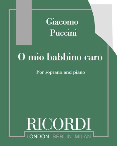 "O mio babbino caro (from ""Gianni Schicchi"")"