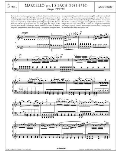 Adagio BWV 974