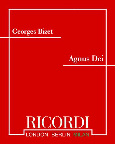 """Agnus dei (da """"L'arlesienne n.2 (Intermezzo)"""")"""