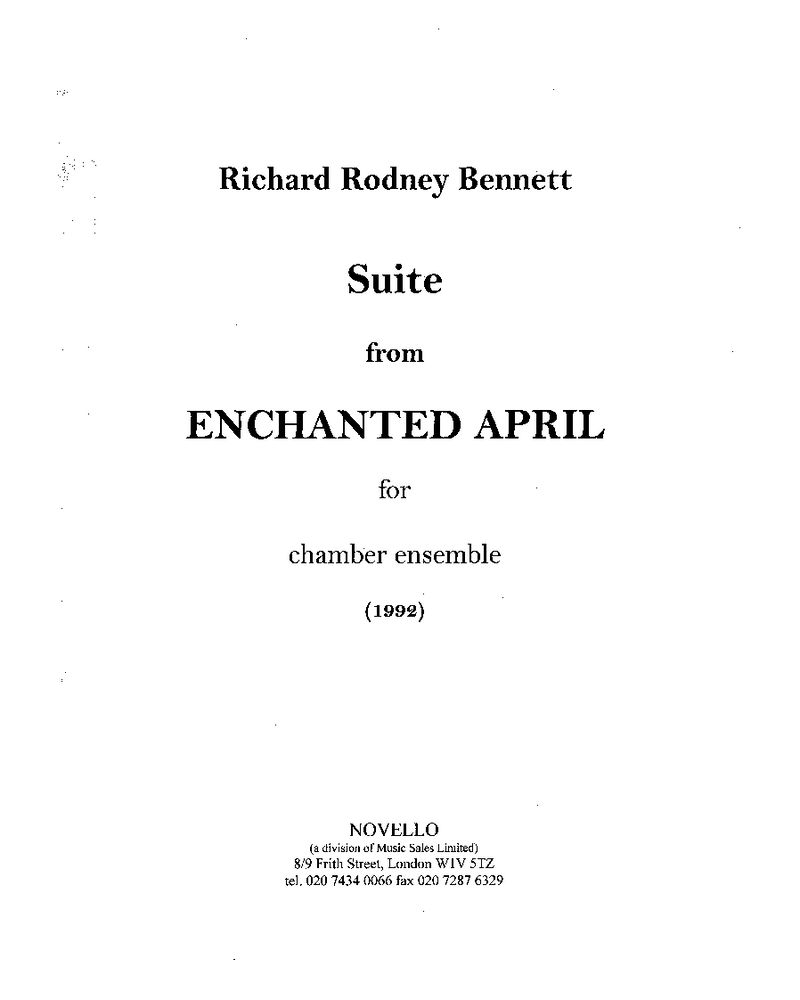 Enchanted April: Suite
