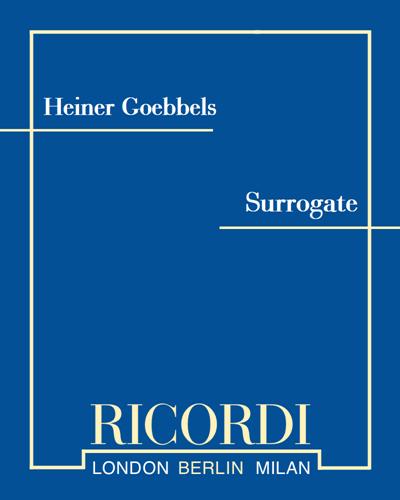Surrogate (Aus dem Zyklus Surrogate Cities)