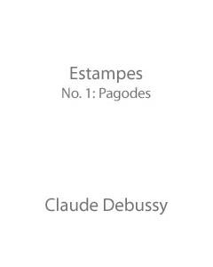 Estampes (No. 1: Pagodes)