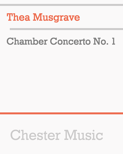 Chamber Concerto No. 1
