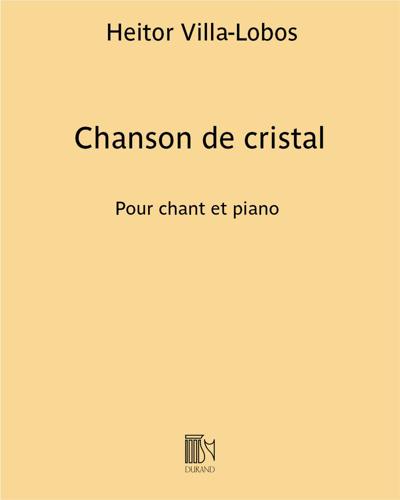 Chanson de cristal