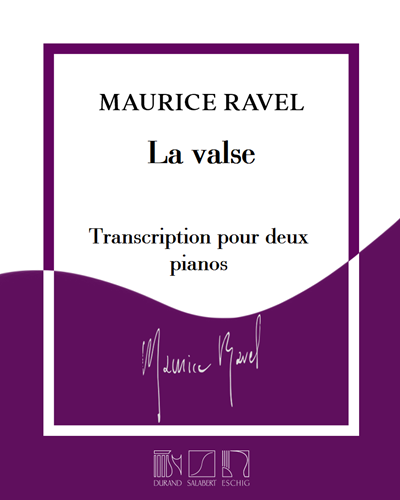 La valse - Transcription pour deux pianos