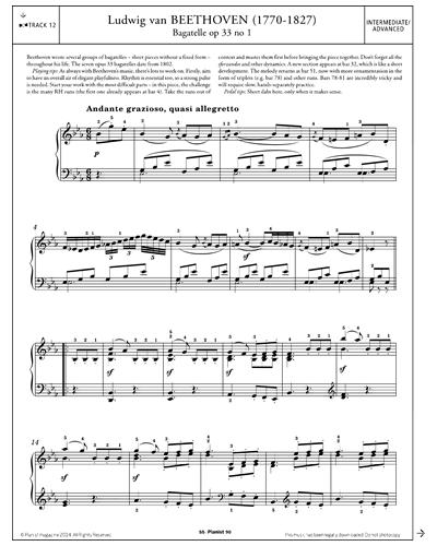 Bagatelle Op.33 No.1